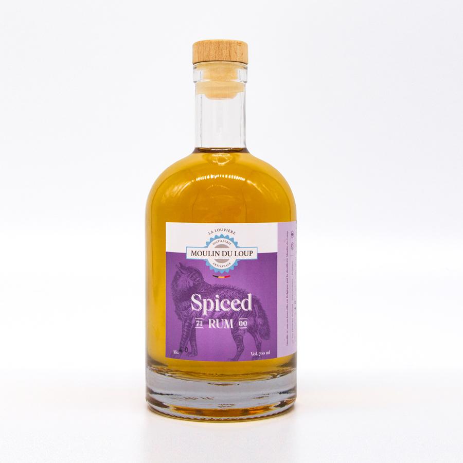 Rhum brun épicé / Spiced rum