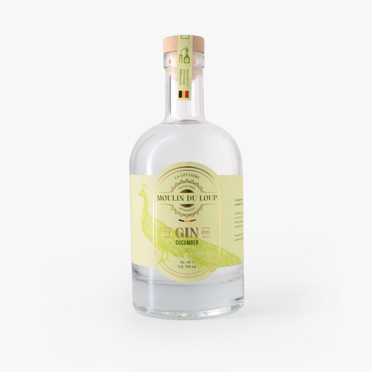 Gin Concombre / Cucumber Gin
