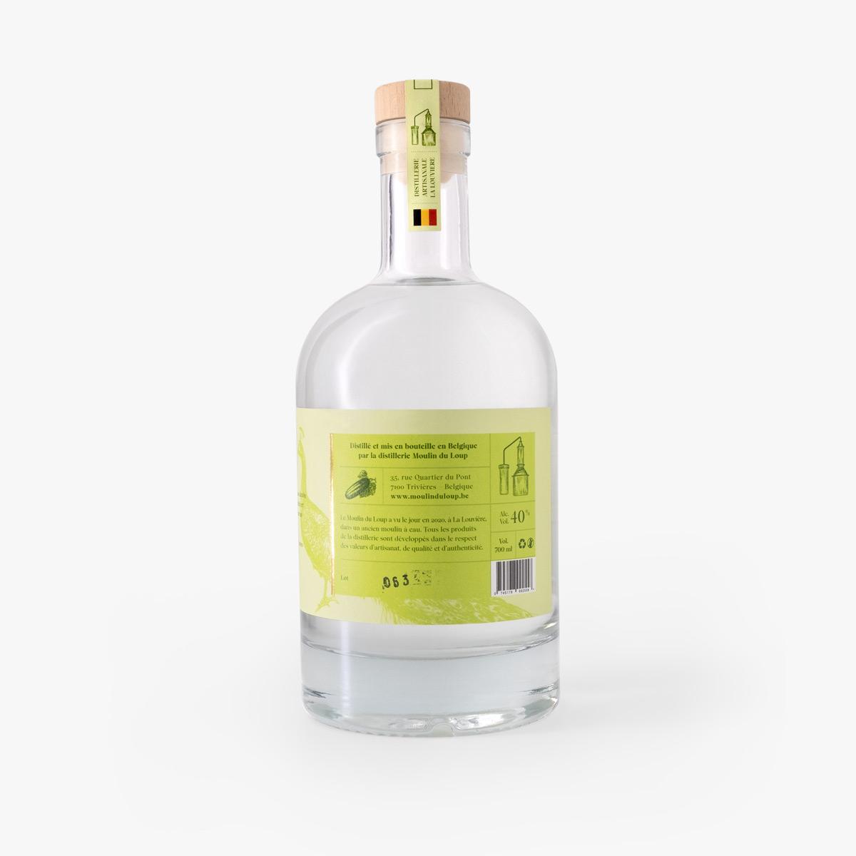Gin concombre Moulin du Loup